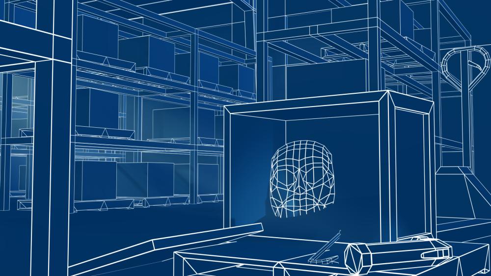 Blueprint Render - Artifact Warehouse