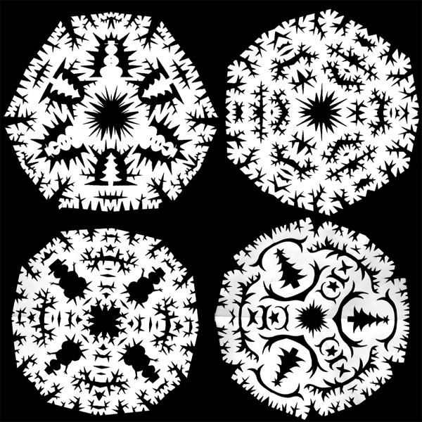 4 snowflakes 2011