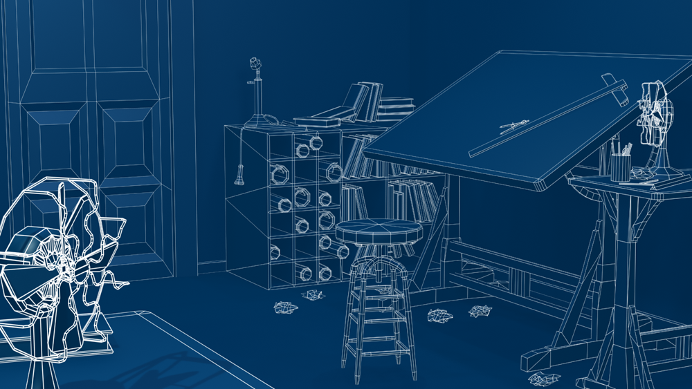 Blueprint Render - Drafting Room